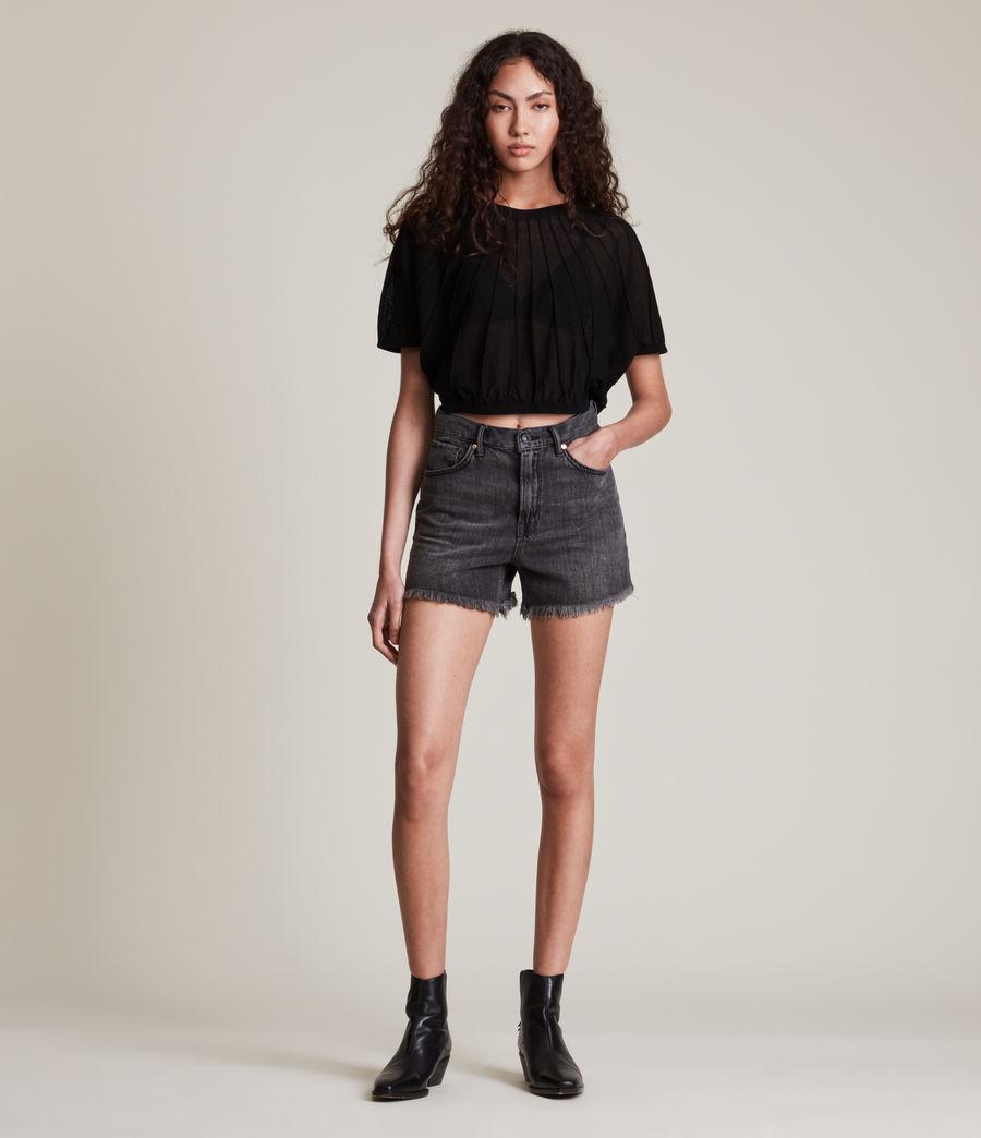 Womens Adira Top (black) - Image 4