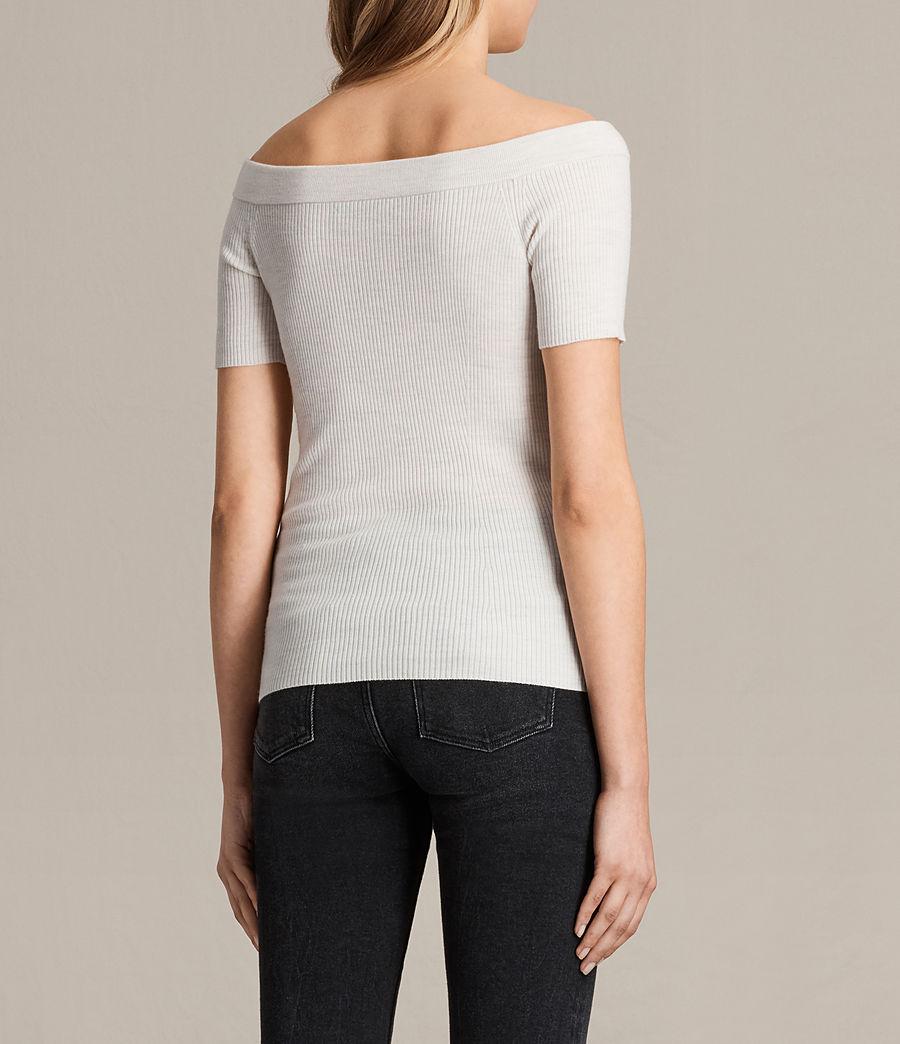 Women's Lavine Top (ecru_white) - Image 3