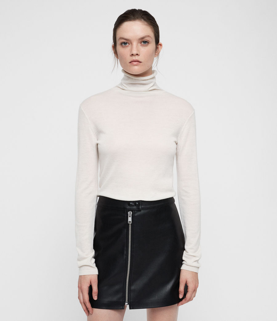 Womens Opal Sweater (ivory_white) - Image 1