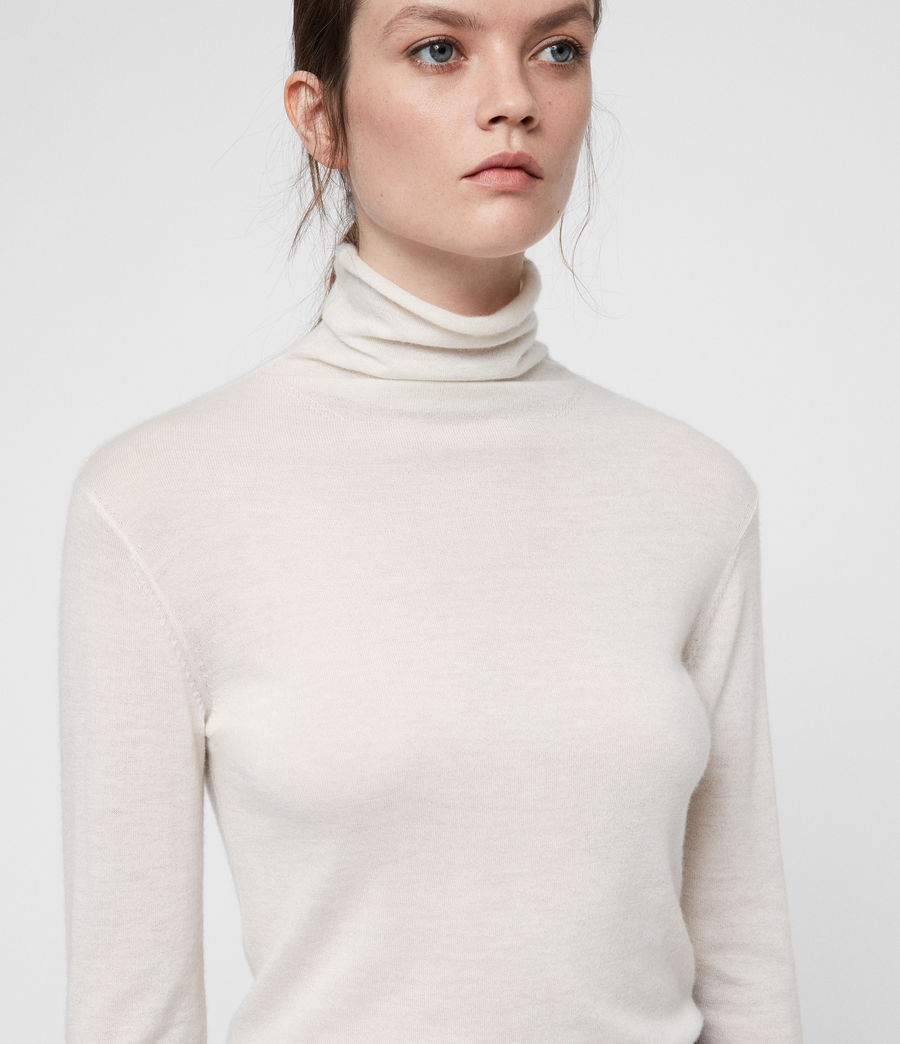 Womens Opal Sweater (ivory_white) - Image 2