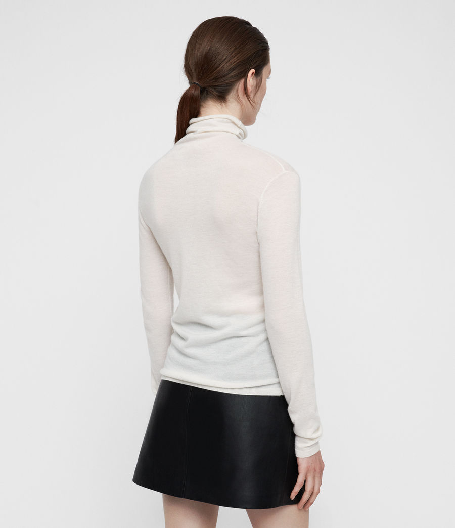 Womens Opal Sweater (ivory_white) - Image 4