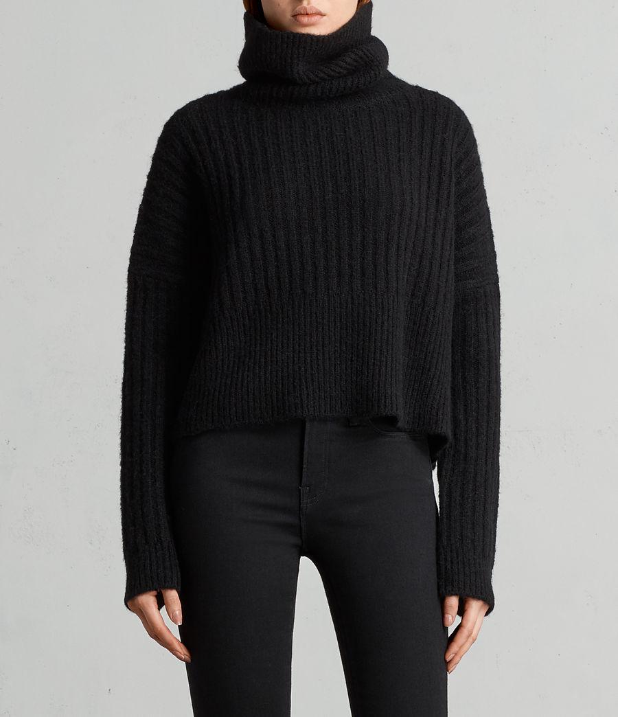 Damen Pico Pullover (black) - Image 1