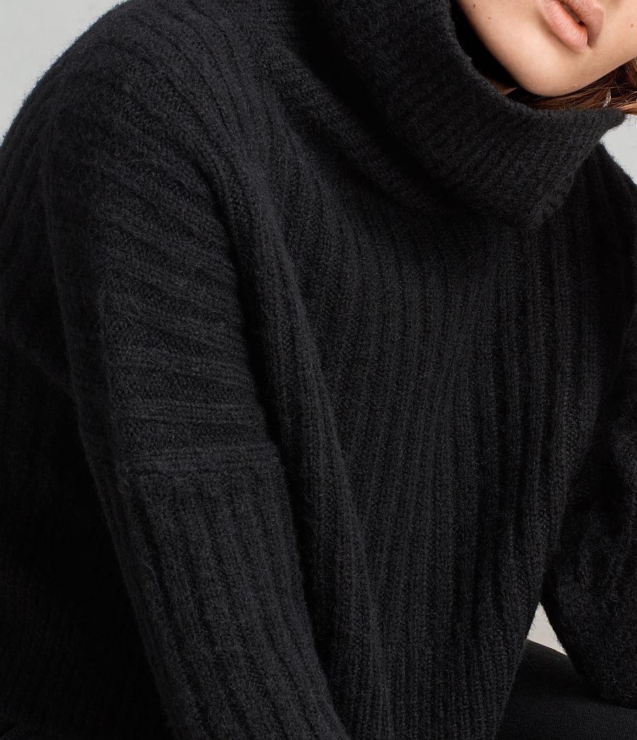 Damen Pico Pullover (black) - Image 2