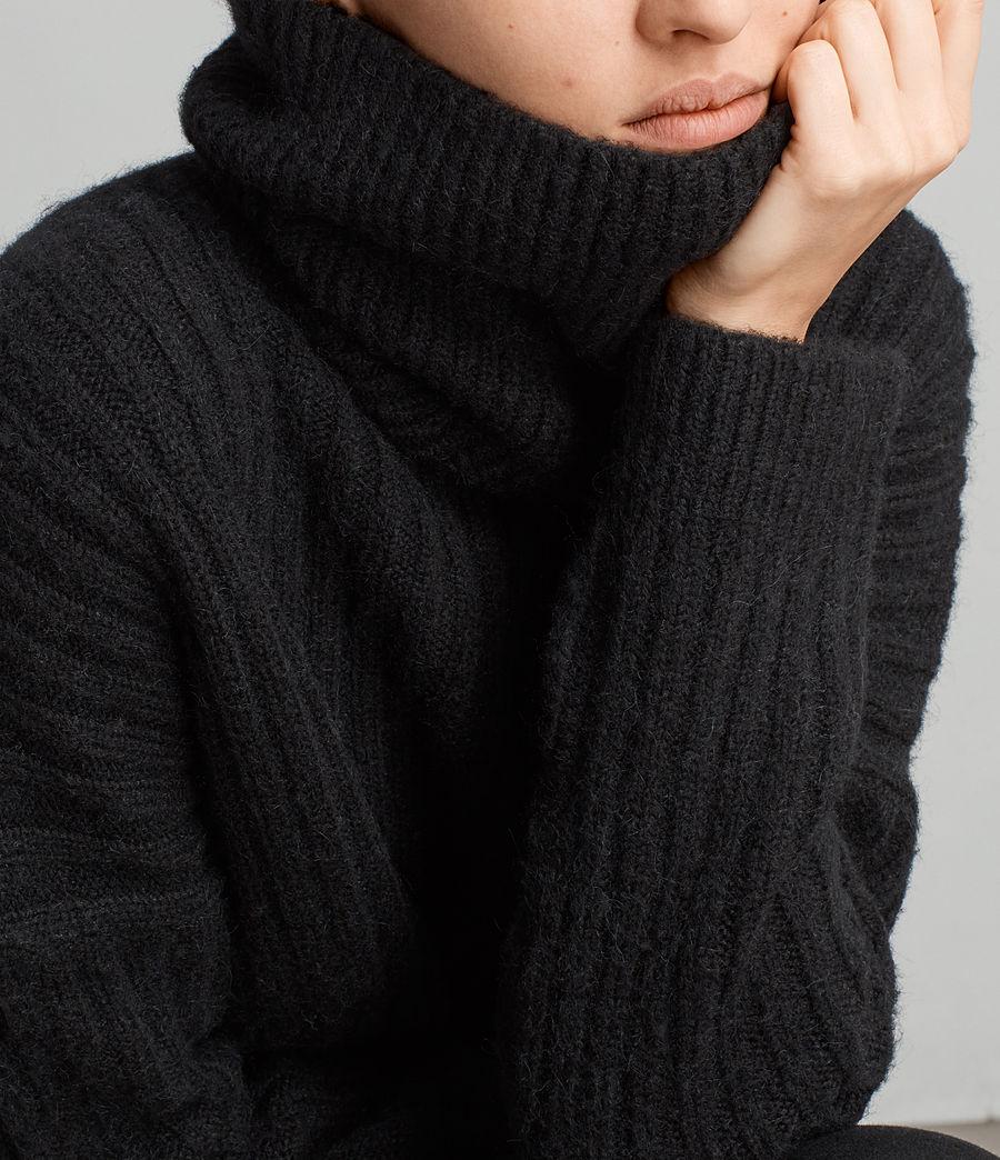 Damen Pico Pullover (black) - Image 4