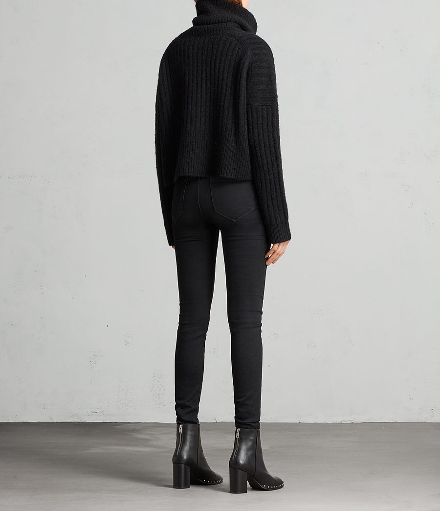 Damen Pico Pullover (black) - Image 5