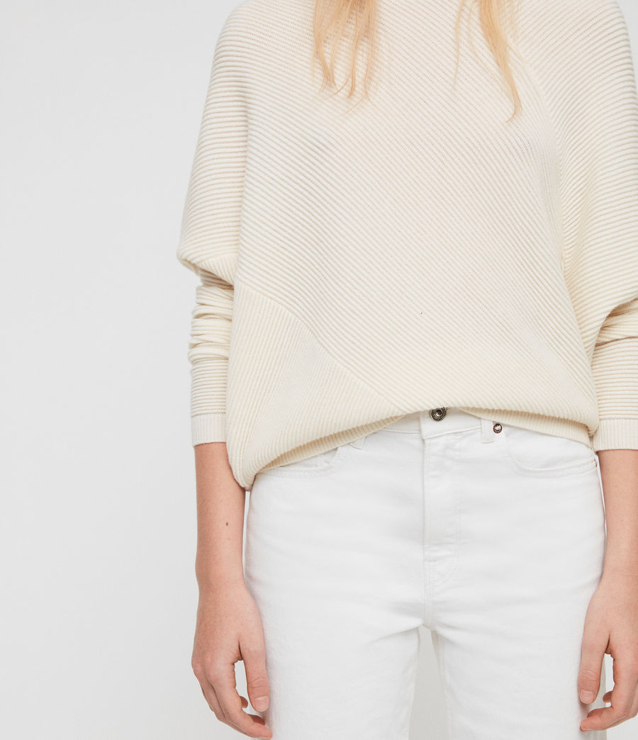 Womens Deon Sweater (chalk_white) - Image 2