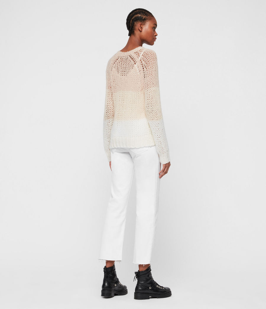Damen Casey Stripe Pullover (putty_mallow_chalk) - Image 5