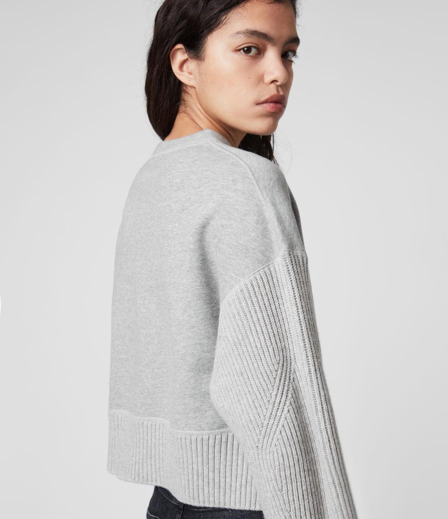 Womens Perla Sweater (grey_marl) - Image 2