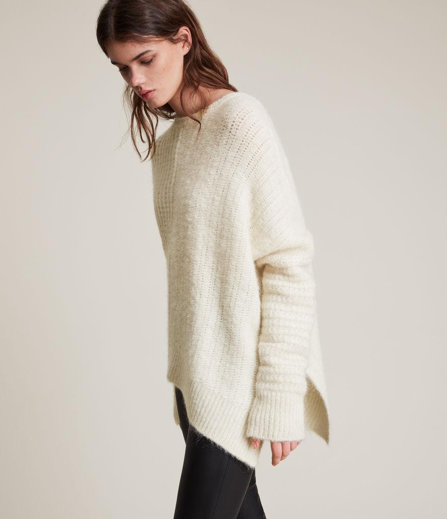 Womens Selena Sweater (chalk_white) - Image 1