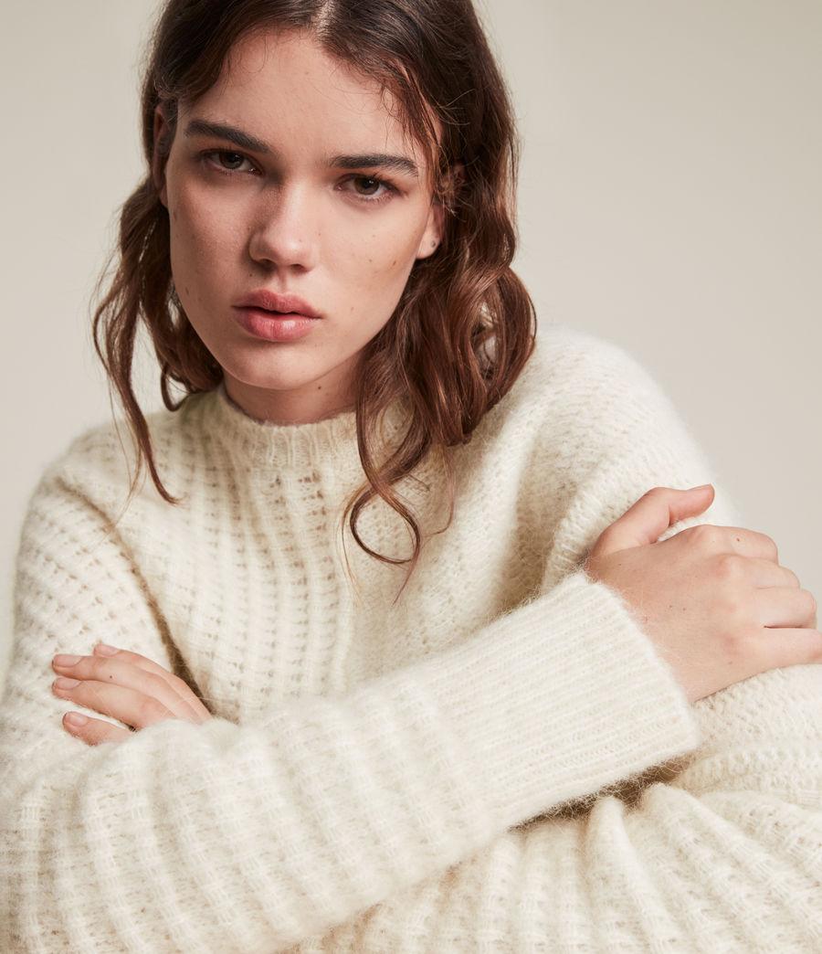Womens Selena Sweater (chalk_white) - Image 2