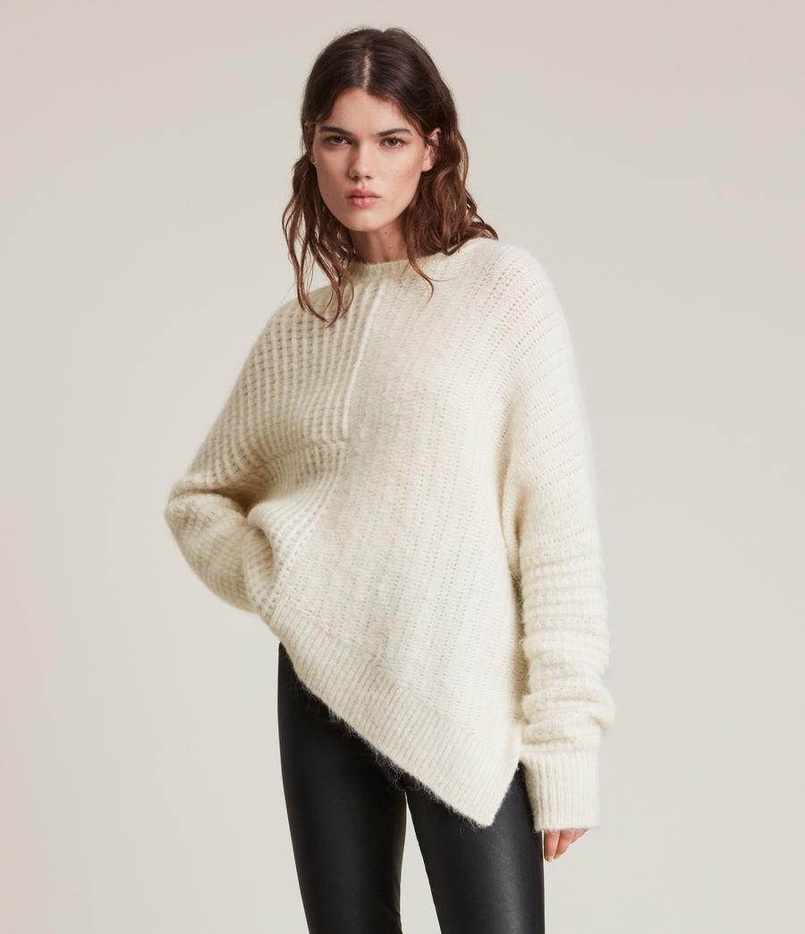 Womens Selena Sweater (chalk_white) - Image 3