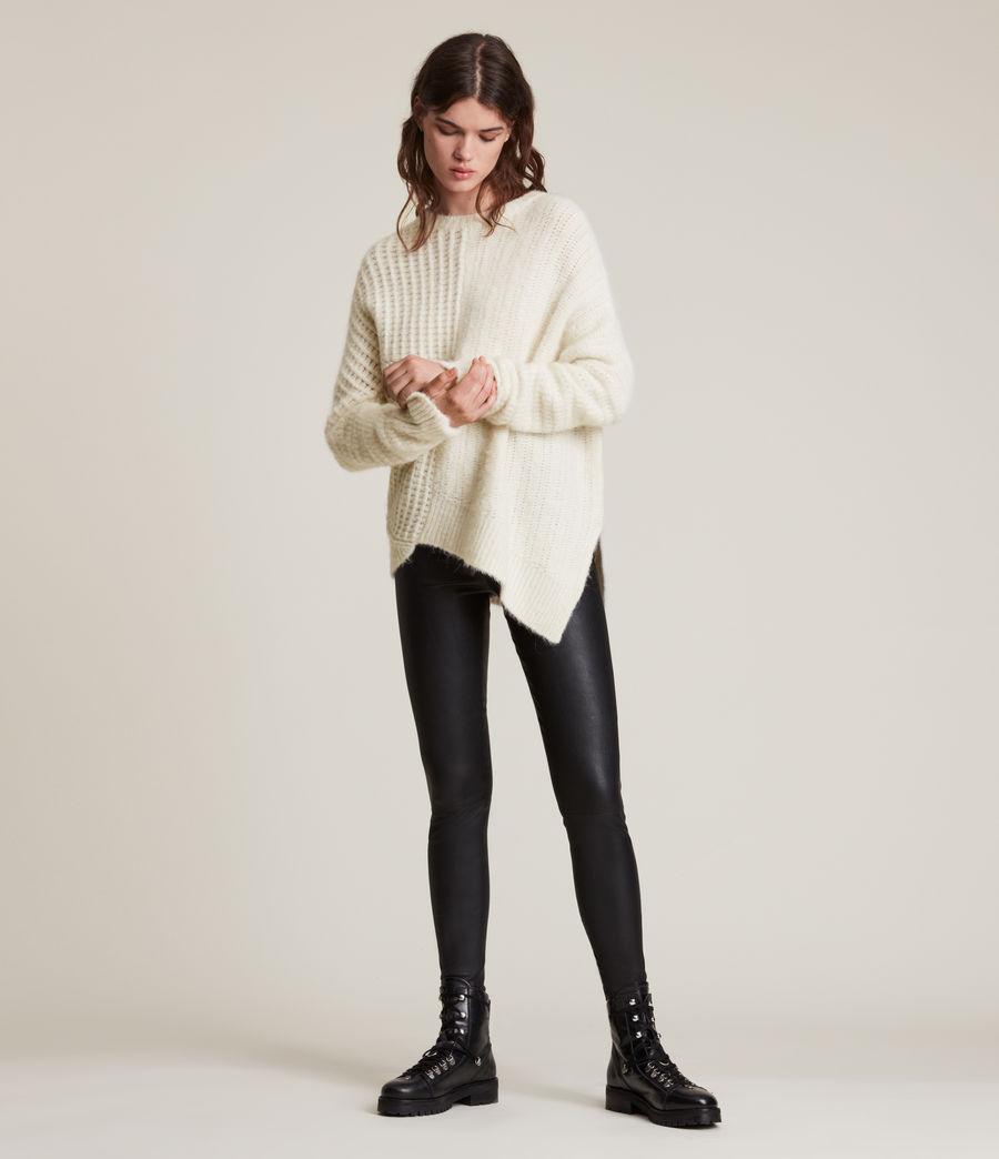 Womens Selena Sweater (chalk_white) - Image 4