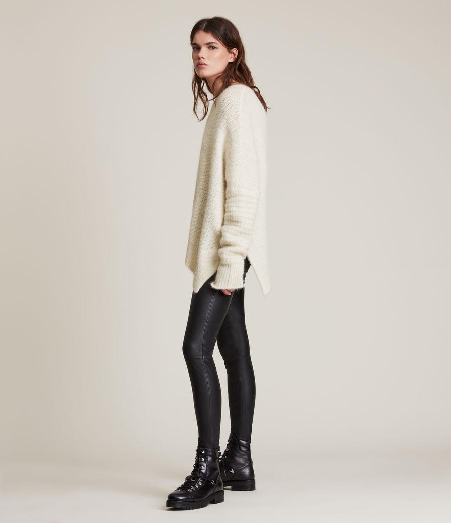 Womens Selena Sweater (chalk_white) - Image 6