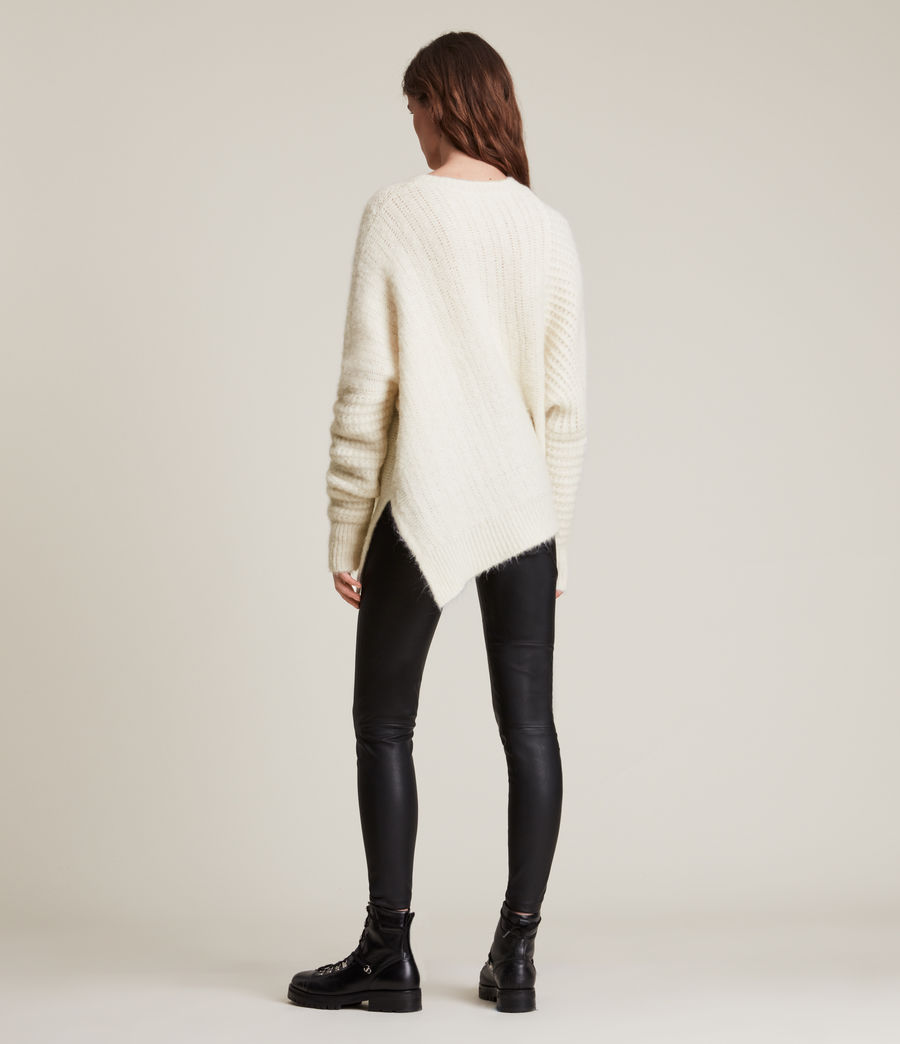 Womens Selena Sweater (chalk_white) - Image 7