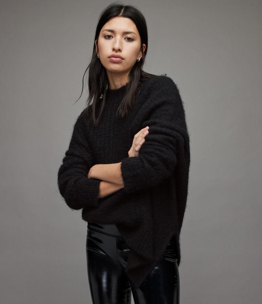 Womens Selena Sweater (black) - Image 1