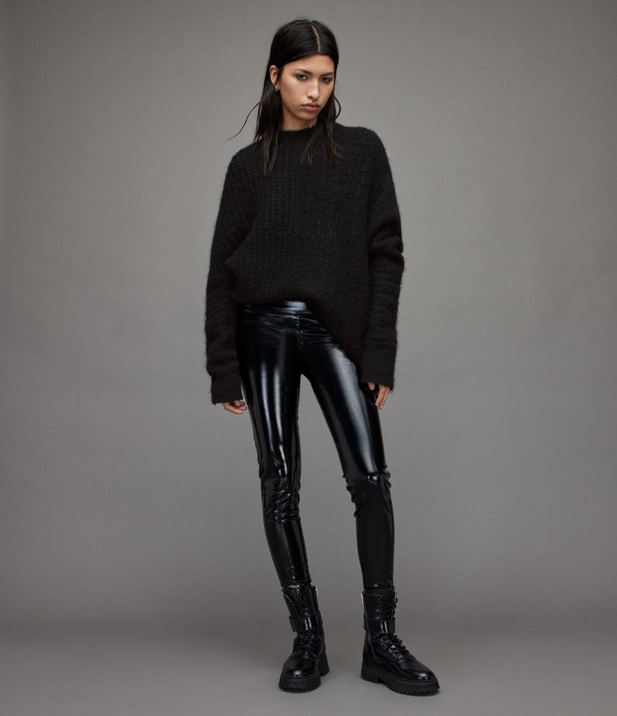 Womens Selena Sweater (black) - Image 3