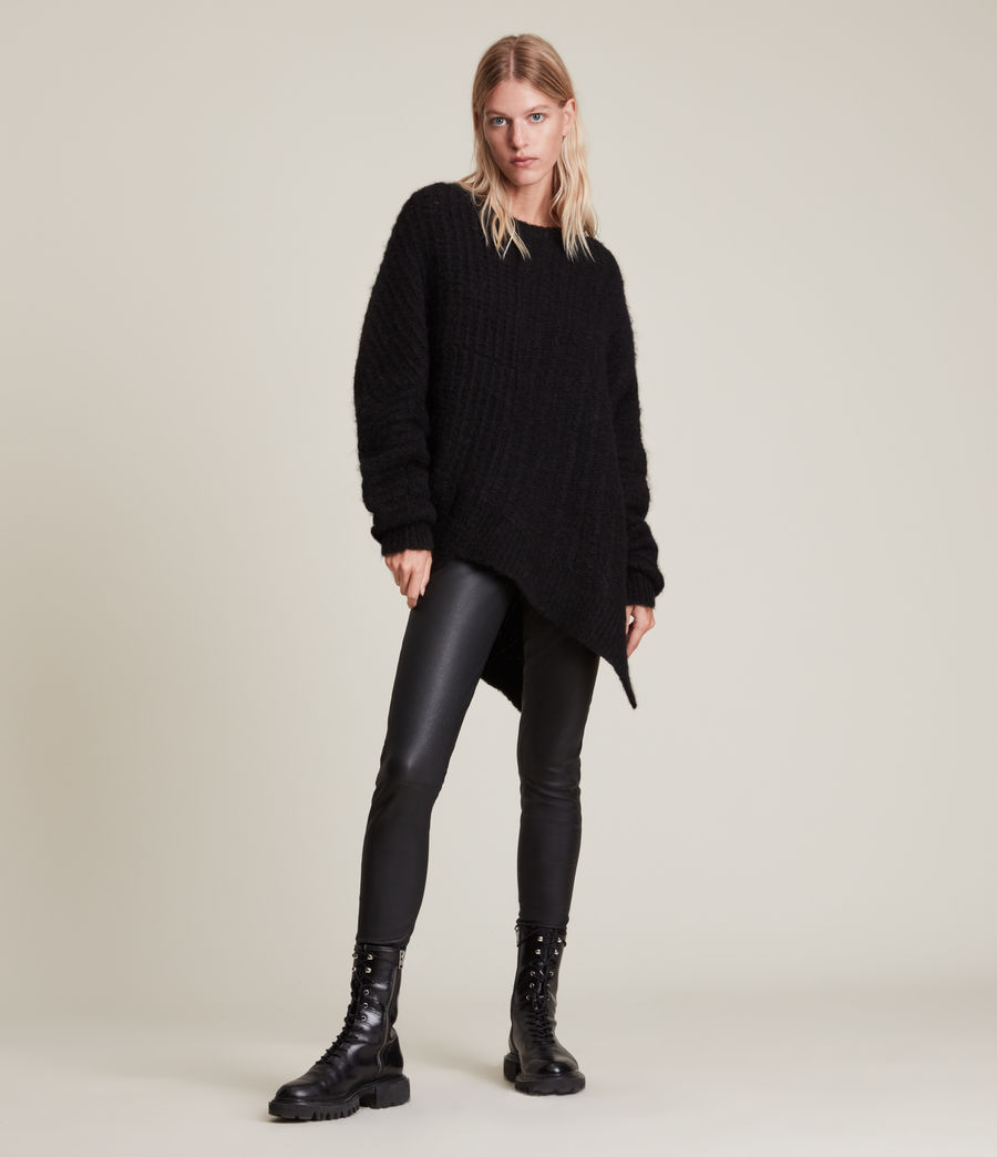 Womens Selena Sweater (black) - Image 5