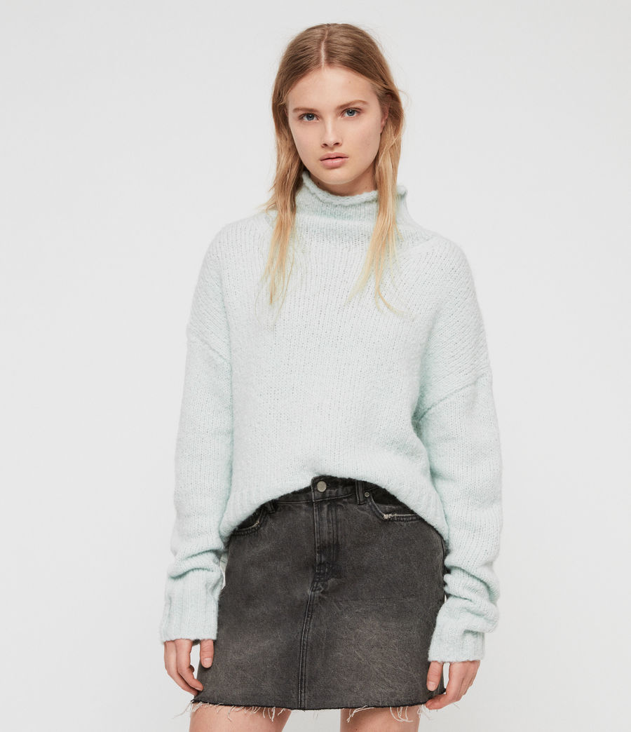 Women's Bay Jumper (cloud_blue) - Image 3