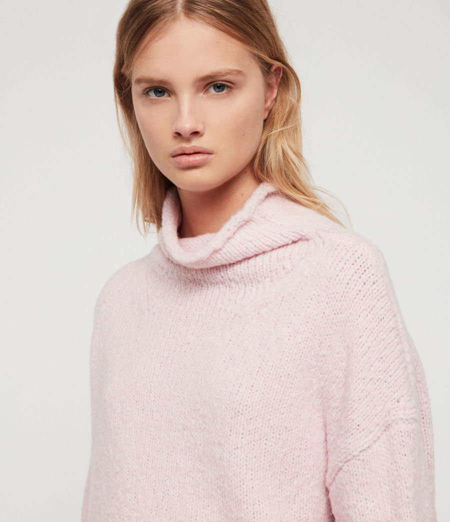 Womens Bay Sweater (baby_pink) - Image 2