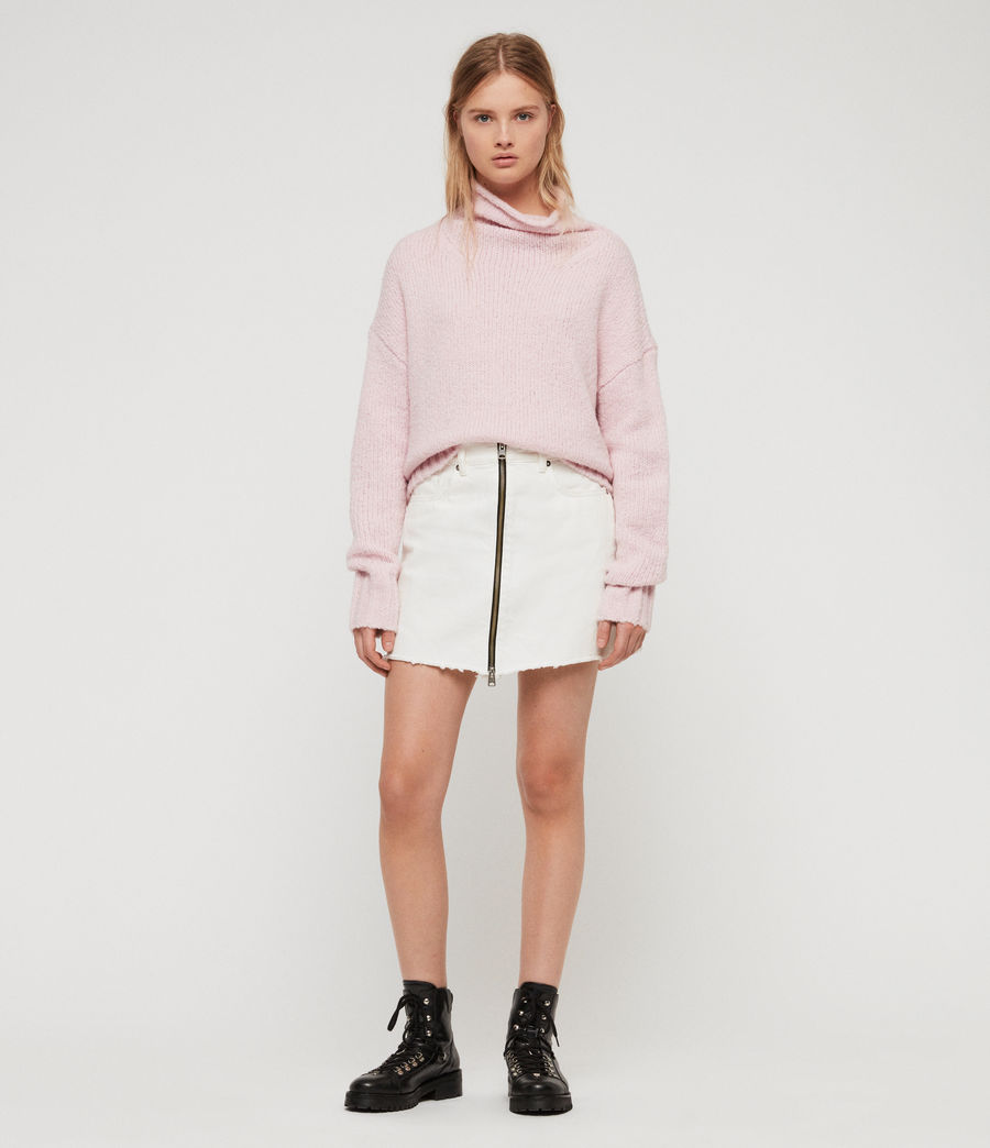 Womens Bay Sweater (baby_pink) - Image 3