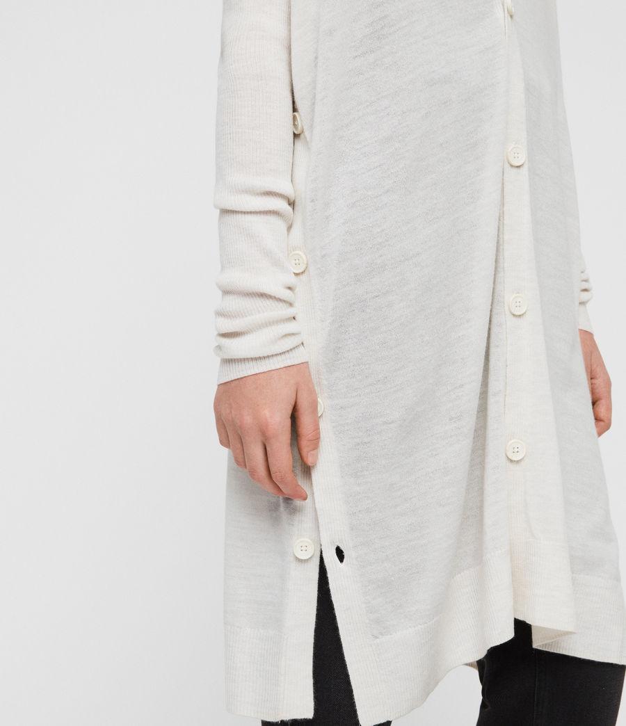 Women's Mori Cardigan (ivory_white) - Image 4