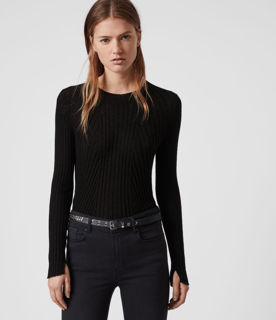 Damen Addie Pullover (black) - Image 1