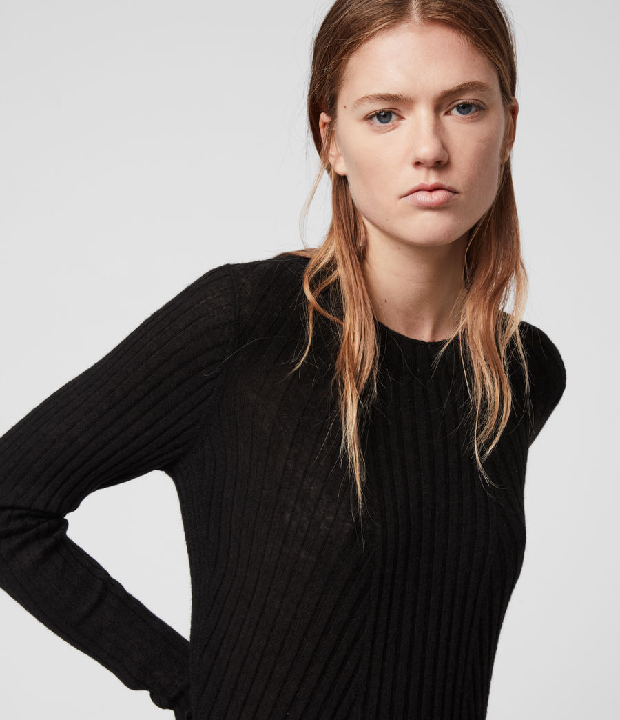 Damen Addie Pullover (black) - Image 2