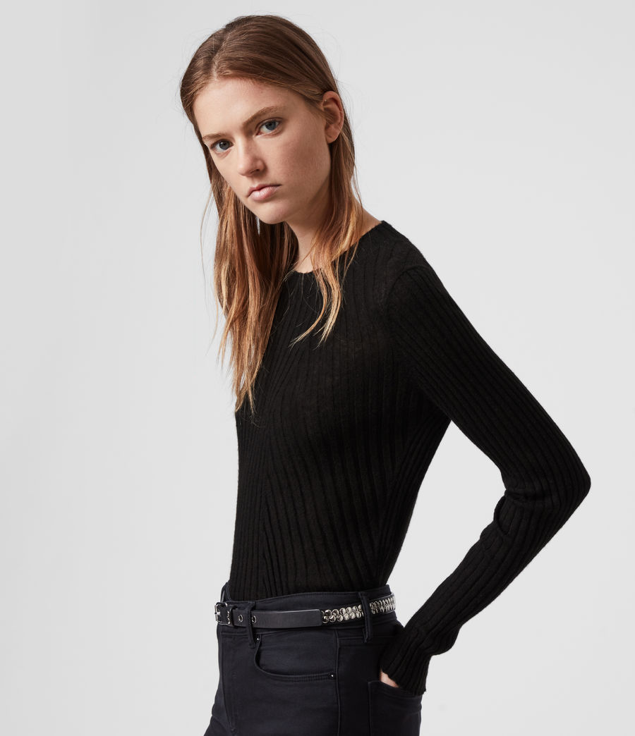 Damen Addie Pullover (black) - Image 3
