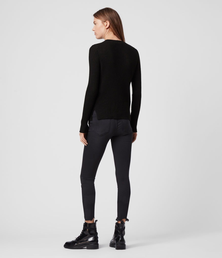 Damen Addie Pullover (black) - Image 4
