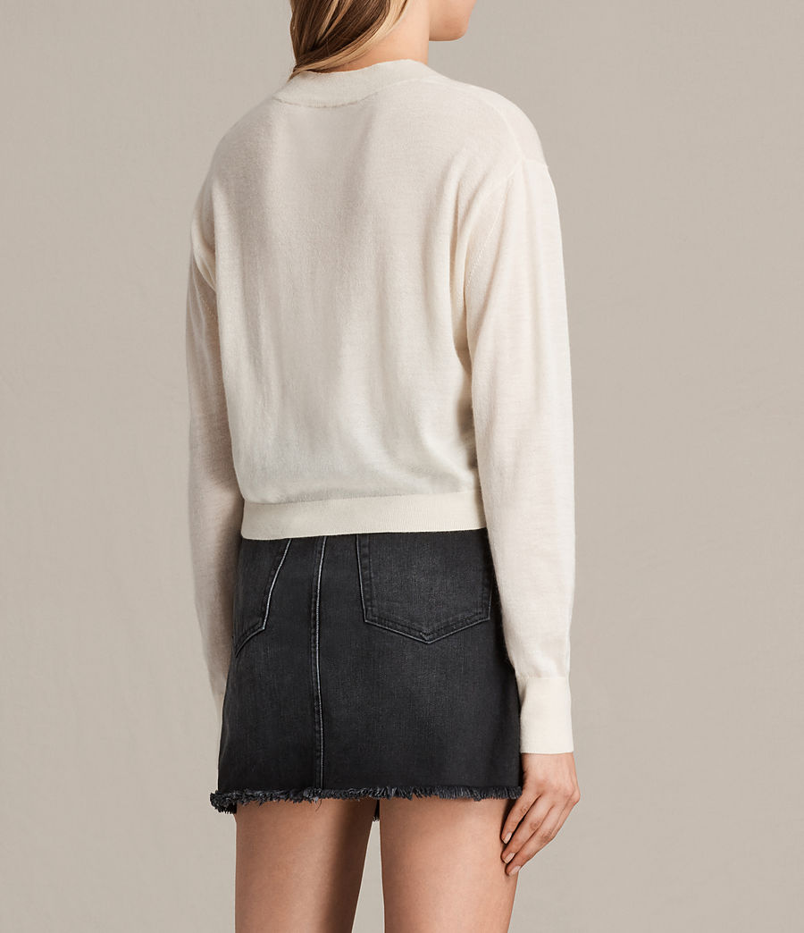 Damen Lotus Cropped-Kaschmirpullover (lemon_yellow) - Image 3