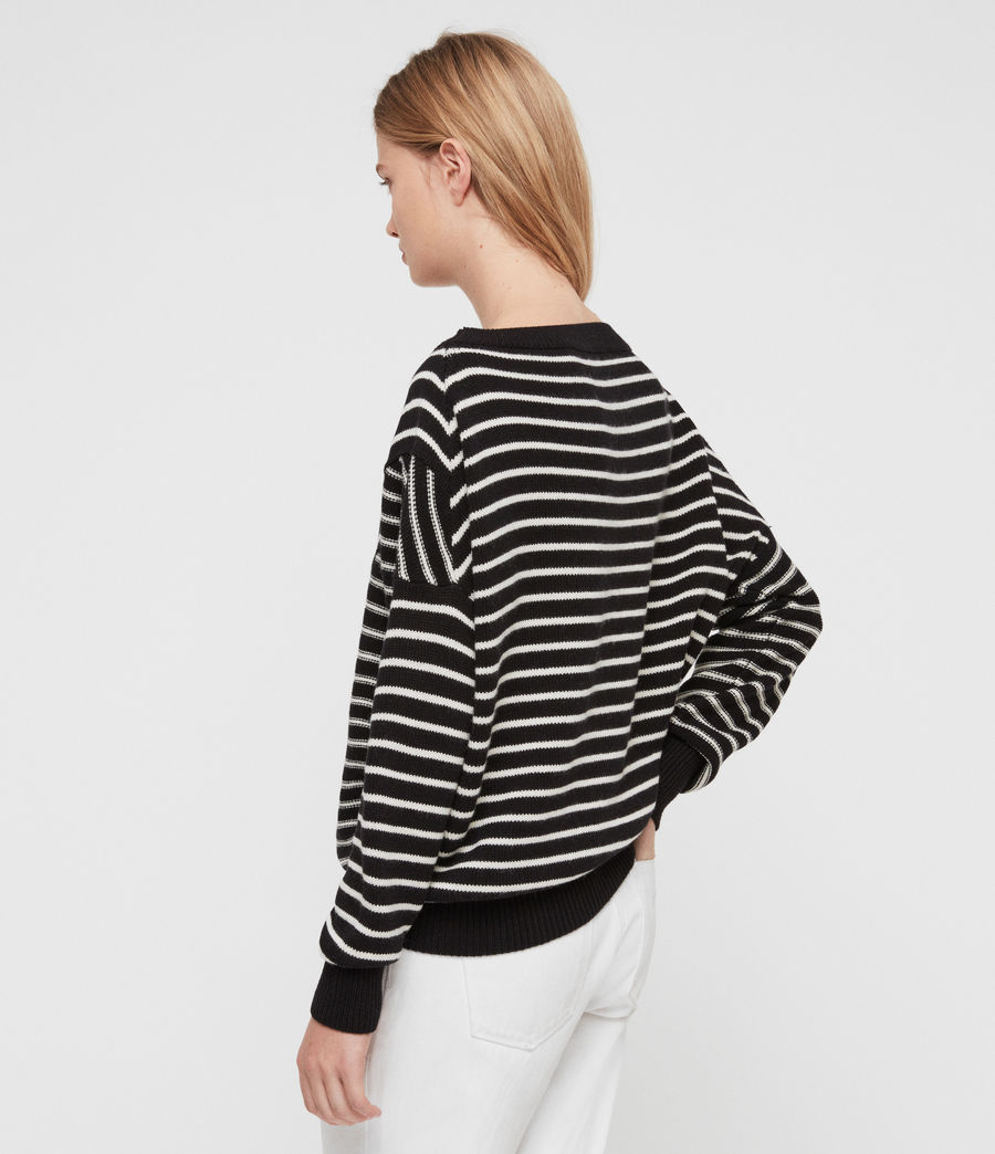 Damen Vani Pullover (black_chalk_white) - Image 4