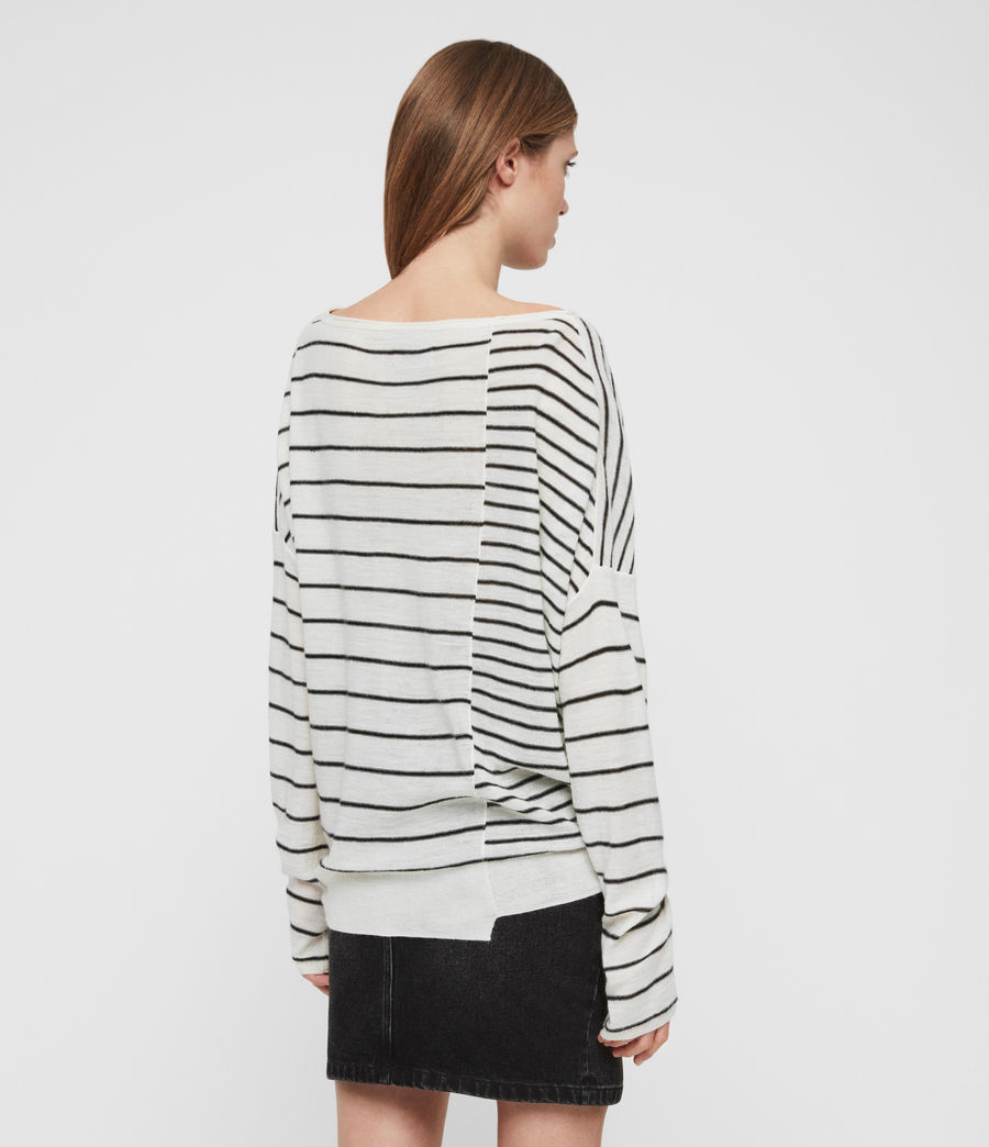 Donne Cali Jumper (chalk_white_black) - Image 5