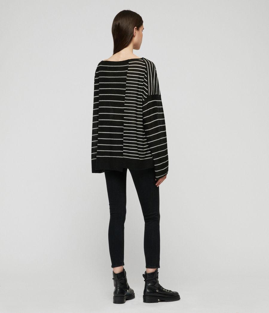 Mujer Suéter Cali (black_chalk_white) - Image 4