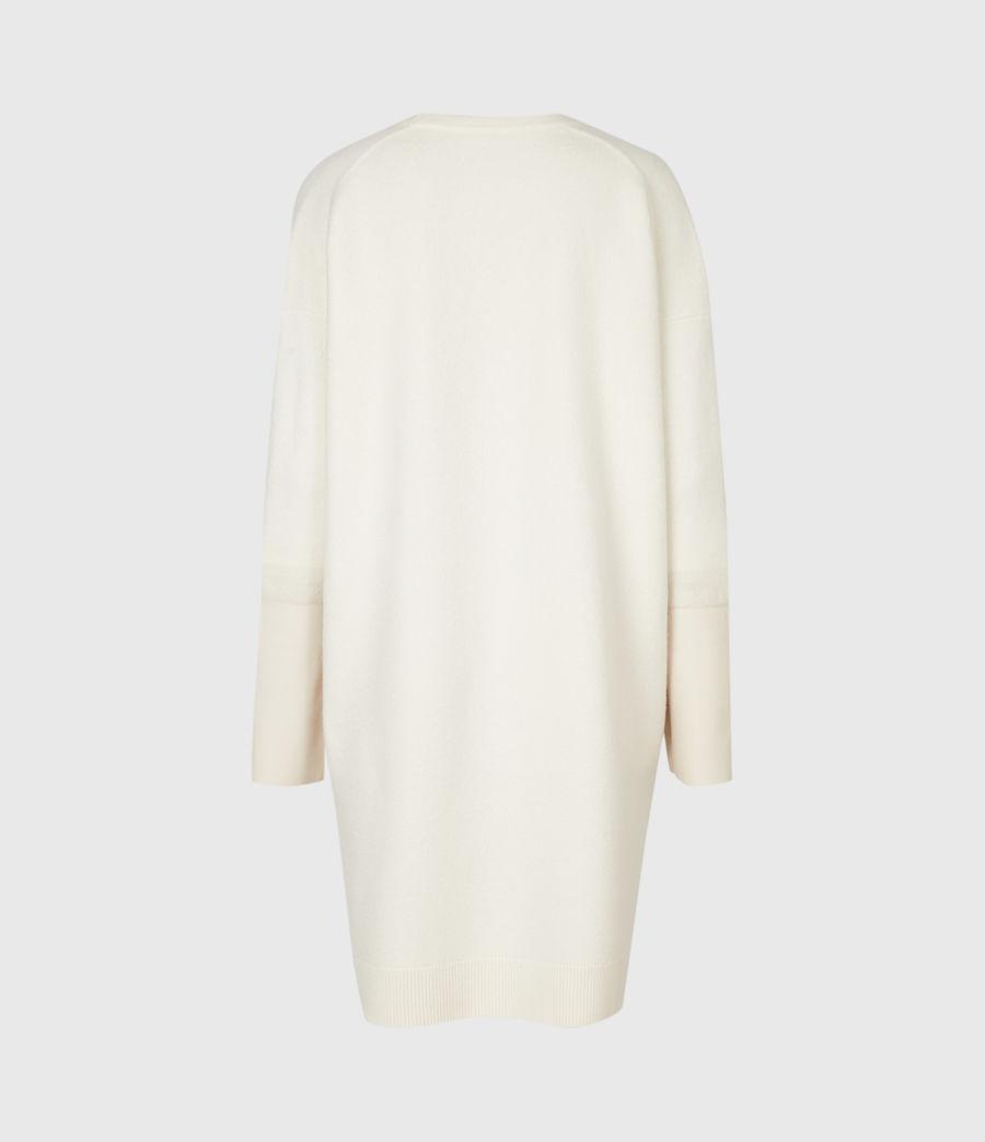 Mujer Essy Merino Wool Cardigan (chalk_white_cream) - Image 3