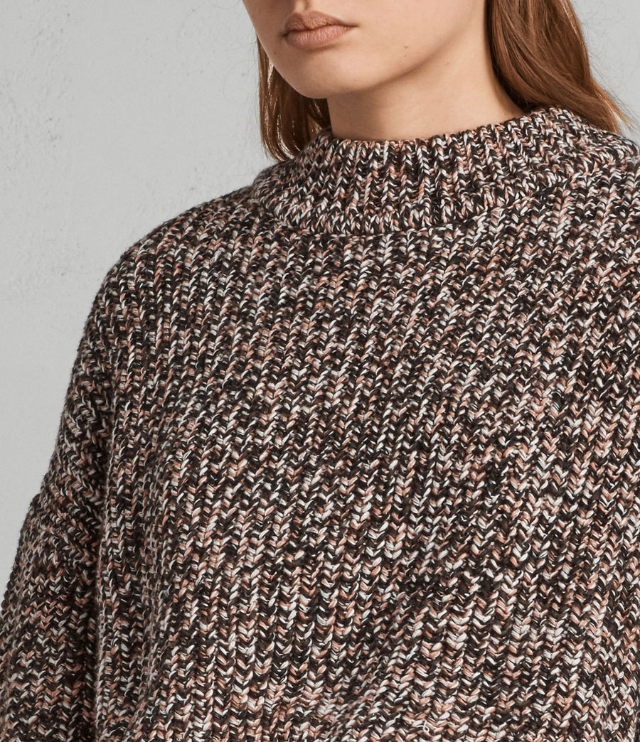 Womens Malu Jumper (pink_mix) - Image 2