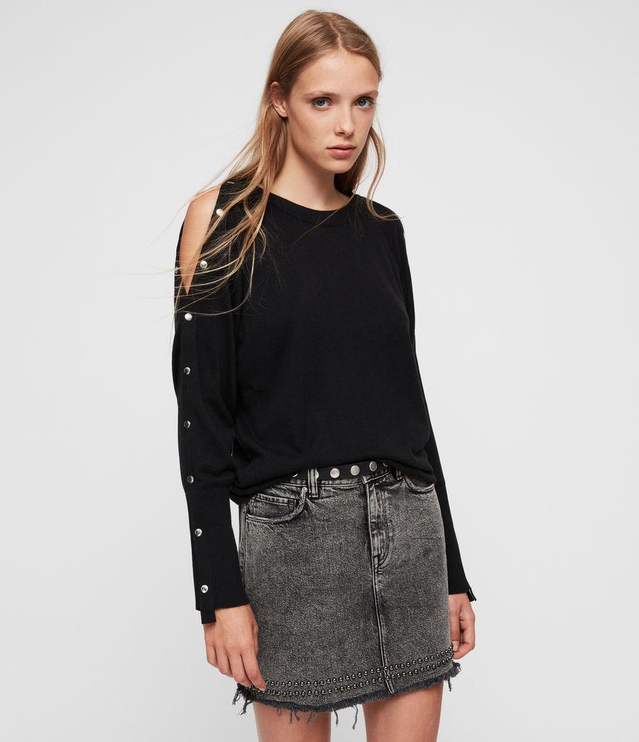 Womens Suzie Sweater (black) - Image 1