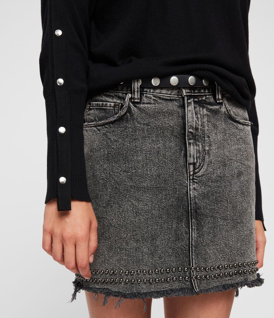 Womens Suzie Sweater (black) - Image 4