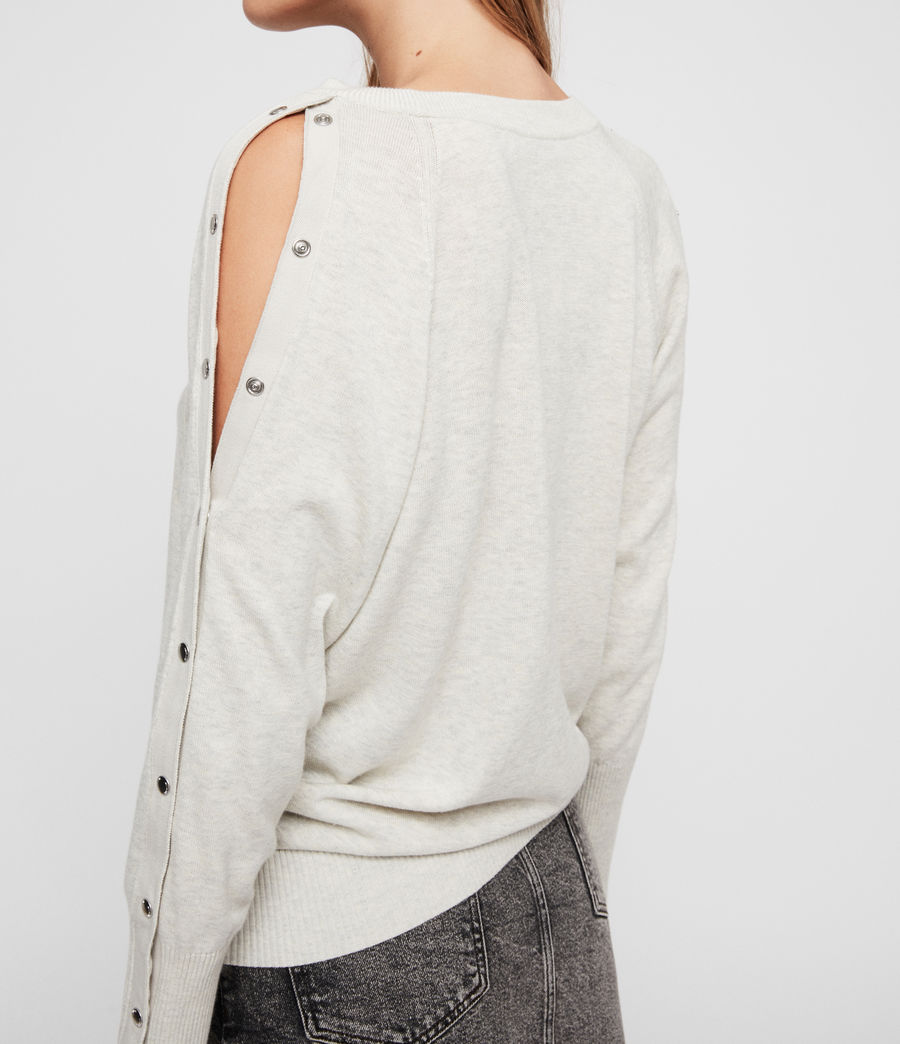 Womens Suzie Sweater (silver_grey) - Image 4