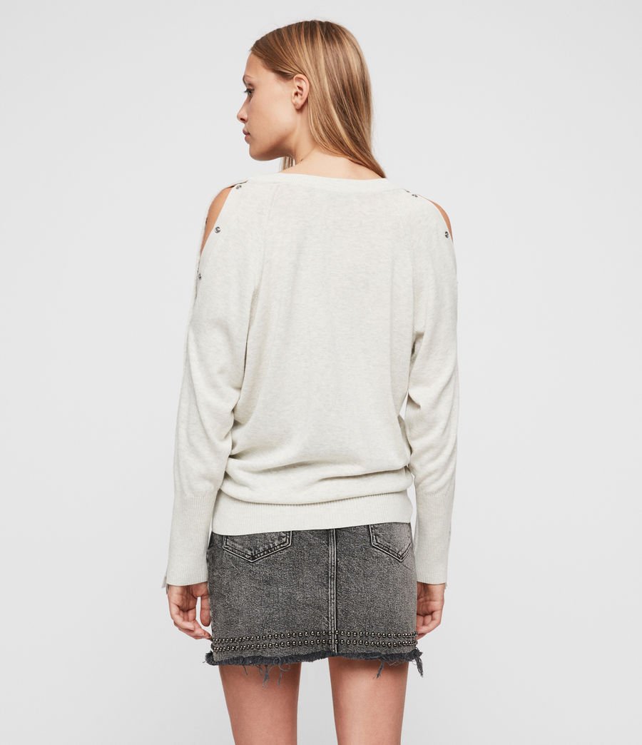 Womens Suzie Sweater (silver_grey) - Image 5