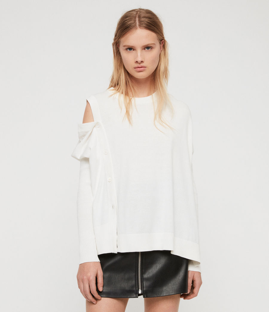 Women's Ria Jumper (chalk_white) - Image 1
