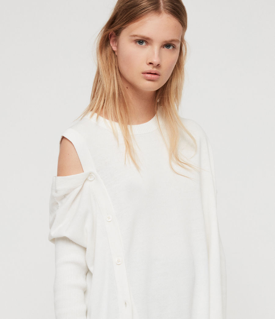 Women's Ria Jumper (chalk_white) - Image 2