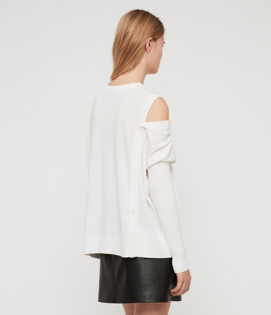 Women's Ria Jumper (chalk_white) - Image 5
