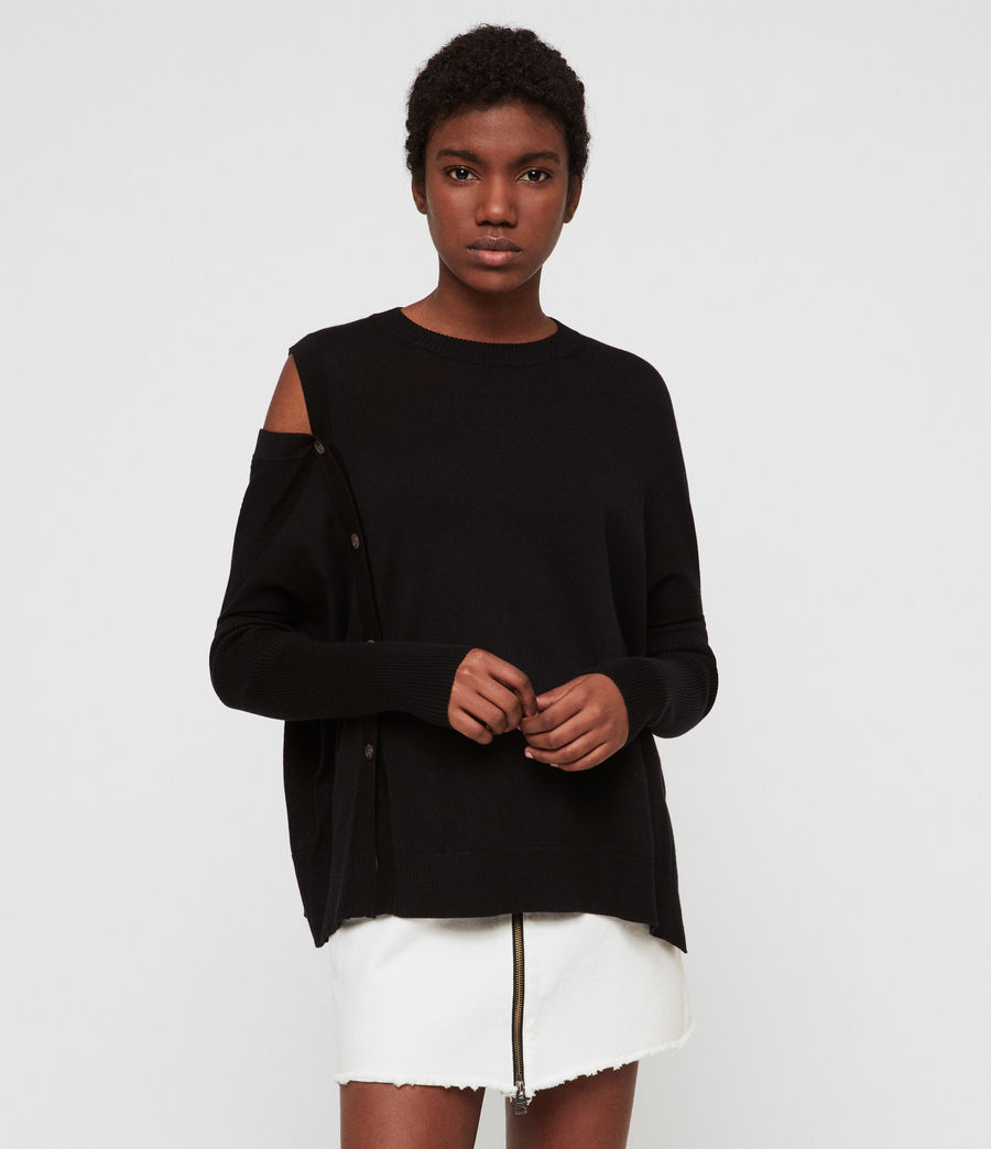Women's Ria Jumper (black) - Image 1