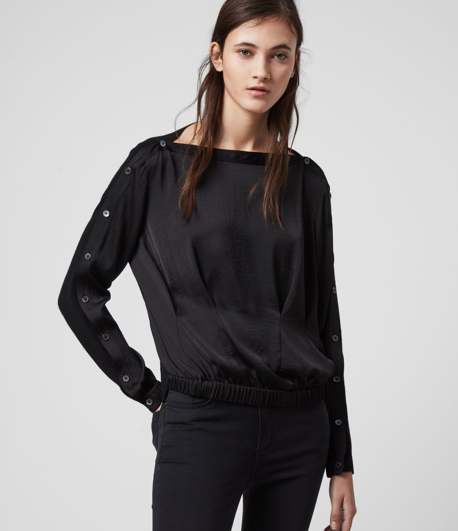 Women's Nova Jumper (black) - Image 5