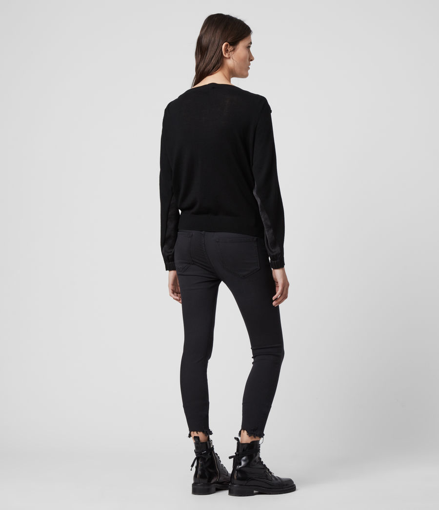 Women's Nova Jumper (black) - Image 6