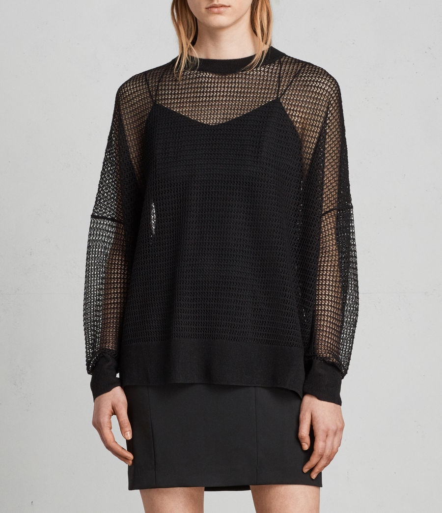 Mujer Jersey Rizo (black) - Image 1