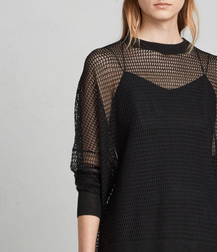 Mujer Jersey Rizo (black) - Image 2