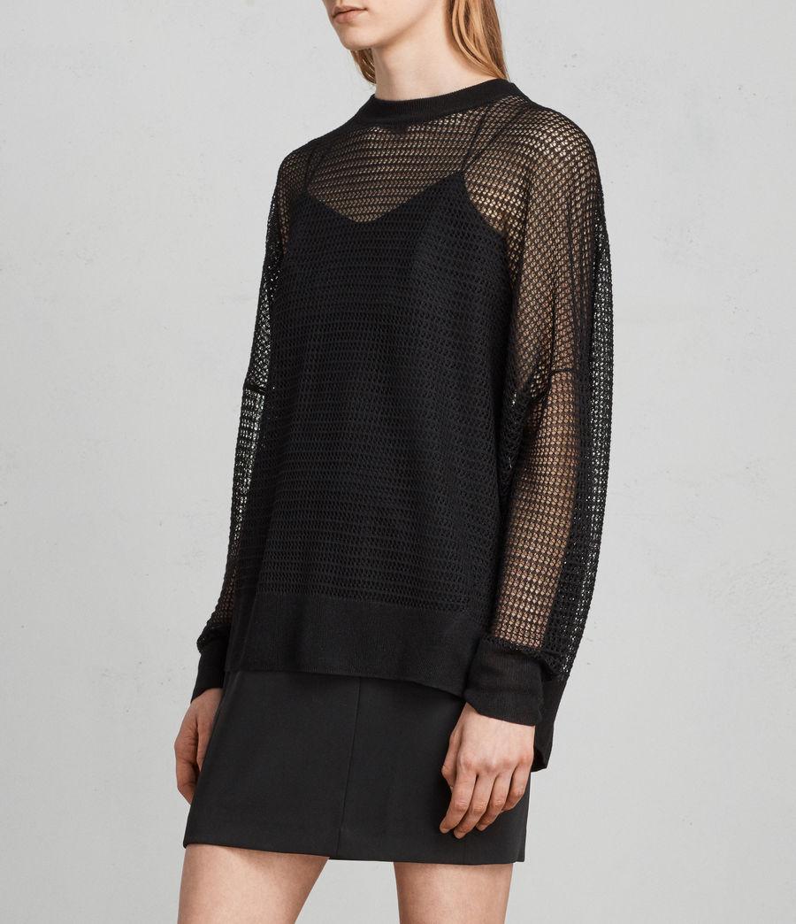Mujer Jersey Rizo (black) - Image 3