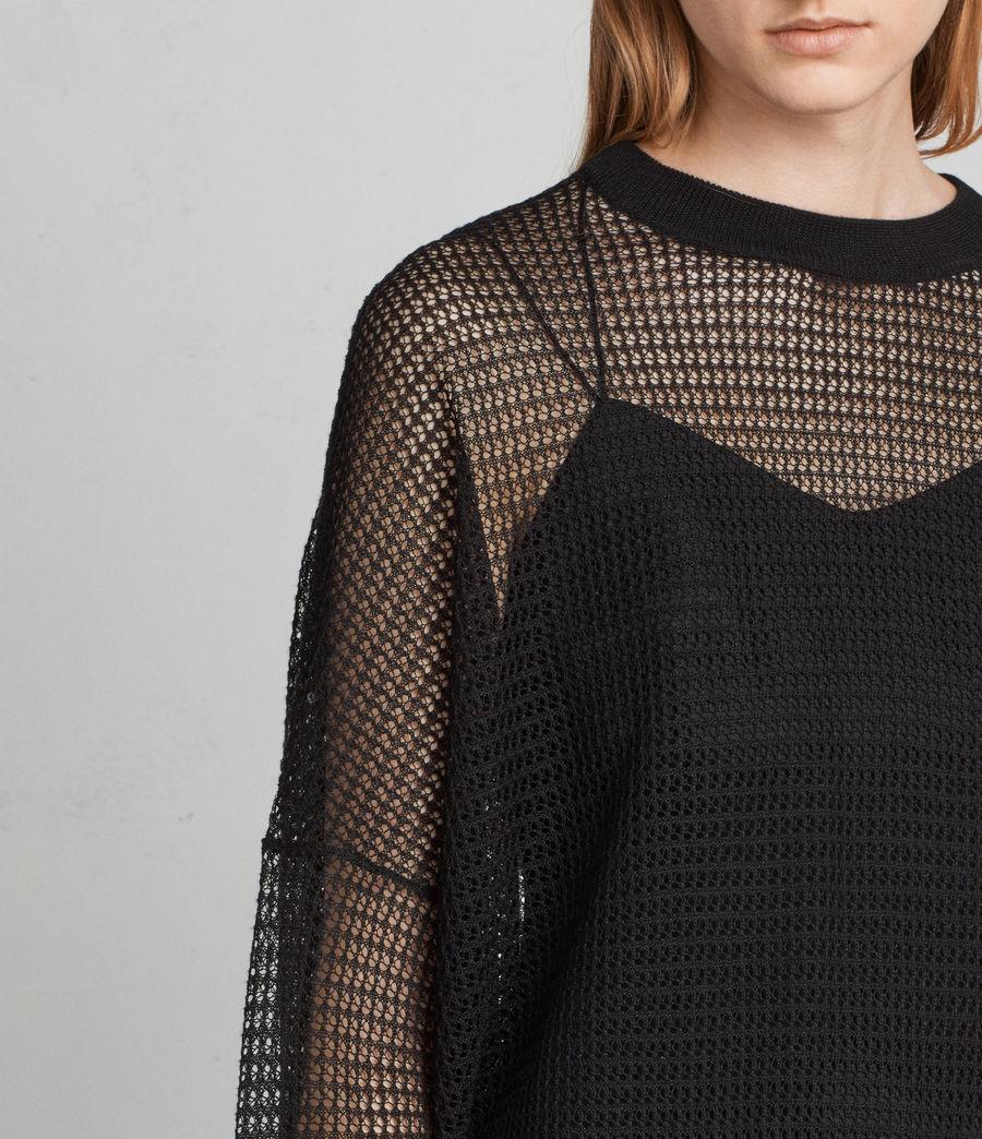 Mujer Jersey Rizo (black) - Image 4