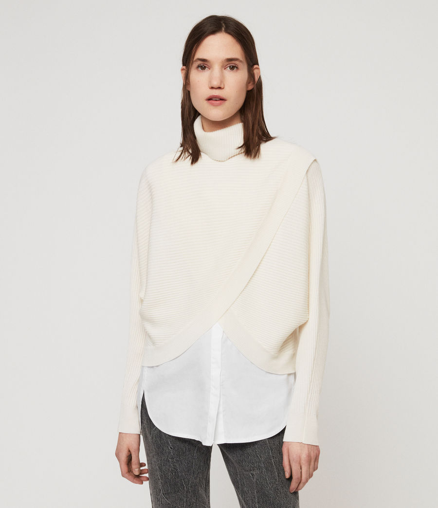 Womens Marias Sweater (chalk_white) - Image 1